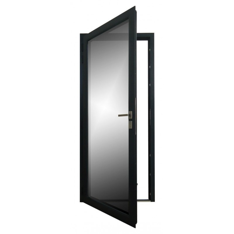 porte fen tre aluminium 1 vantail rupture de pont thermique sur mesure. Black Bedroom Furniture Sets. Home Design Ideas