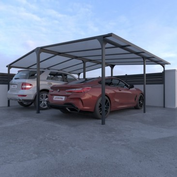 Carport double aluminium...