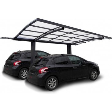 Carport double aluminium 2...
