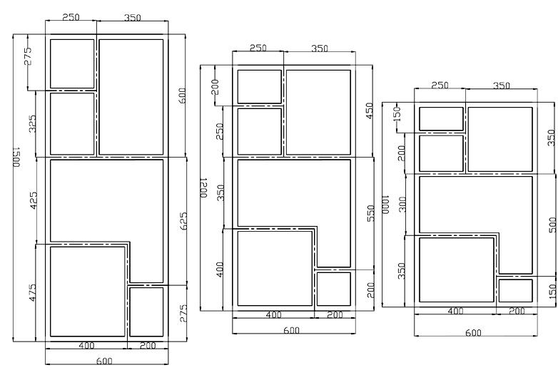 plan dimensions destructuré