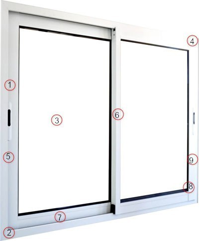 Descriptif fenêtre coulissante aluminium menuiserie aluminium priximbattable.net