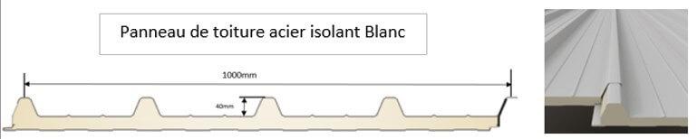 pergola_toit_plat_panneau_toiture_acier_isolant_blanc