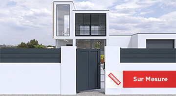 Portillon aluminium Sur Mesure